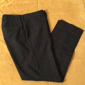 Banana Republic slim fit dress pants in navy